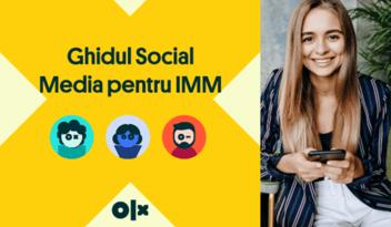 INFOGRAFIC: ghid de promovare Social Media pentru IMM-uri